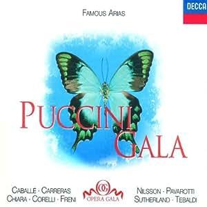 Puccini Gala: Famous Arias / Caballé, Carreras, et al