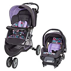 The Baby Trend EZ Ride 5 Travel System is the perfect solution for new parents. This set includes the EZ Ride Stroller and the new Ally 35 Infant Car Seat. Both the stroller and infant car seat feature five-point safety harnesses for maximum ...