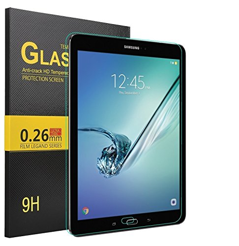 IVSO Galaxy Tab A 10.1 with S Pen Screen Protector - Tempered Glass Protector with [Scratch-Resistant] [No-Bubble Easy Installation] for Samsung Galaxy Tab A 10.1 with S Pen SM-P580NZWAXAR(1pcs)