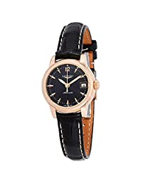 Longines The Saint-Imier Ladies Automatic Leather Watch L2.263.8.52.3