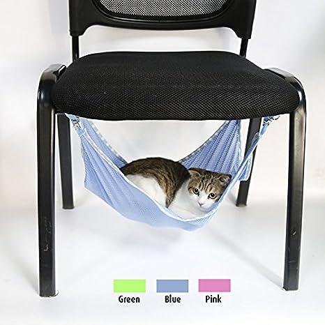 doglemi verano elección bajo silla al aire Respirable Malla Mascota Jaula Hamaca gato cama hamaca: Amazon.es: Productos para mascotas