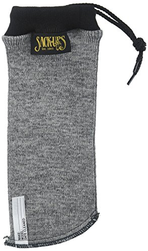 "Sack-Ups Handgun Silicon-treated Gun Sleeve, 9"" Gray"