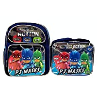 PJ Masks 12 inch Backpack and Lunch Box Set - Action