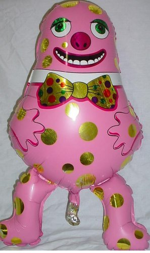 Shaped Character Foil Balloon - Grabo 29
