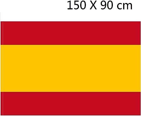 NEWTORO DURABOL Bandera de España sin Escudo 150 * 90 cm: Amazon.es: Deportes y aire libre