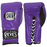 Cleto Reyes Lace Boxing Training Gloves, 12 oz., Red