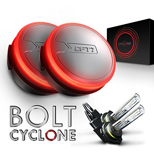 OPT7 Cyclone AC 9012 HID Kit w/ MOSPlusLife - 4x Brighter - 6x Longer Life - All Bulb Sizes and Colors [5000K Bright White Xenon Light]