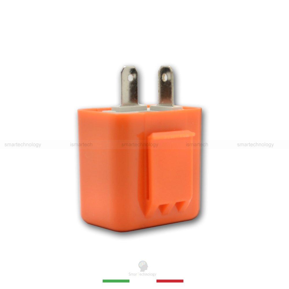 Universal 2 Poliger 12 V Motorrad LED Blinker Relais Lastunabh/ängiges Blinkerrelais Blinkgergeber
