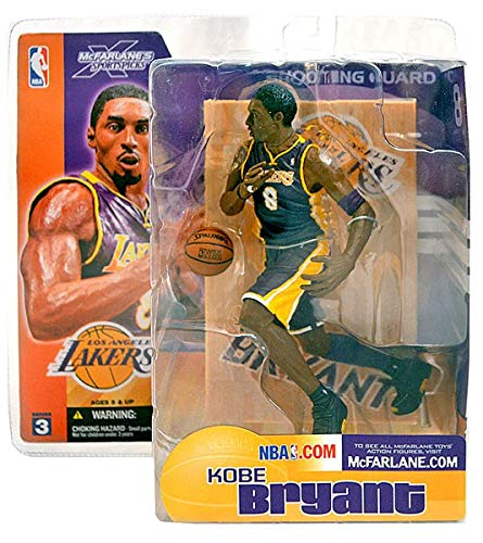 McFarlane Toys McFarlane's Sports Picks Series 3, Kobe Bryant 2003 Purple Jersey