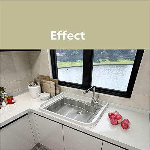 Tira de silicona para barrera de agua de baño Sello de mampara de ducha, tope de flujo de agua de baño flexible de silicona para la separación seca y húmeda del baño (