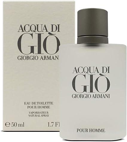 Perfume Acqua Di Gio Pour Homme 50ml Armani Original