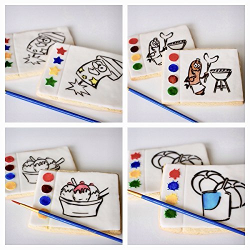1 Summer Paint Your Own Cookie. Read Listing for ALL designs