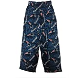 New England Patriots NFL OuterStuff Navy Team Colorway Print Youth Pajama Pants