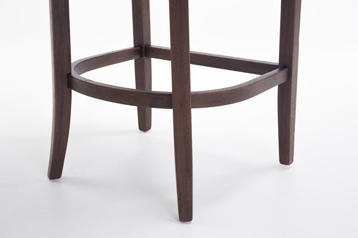 Clp sgabello in legno buckingham antico scuro sgabello alto