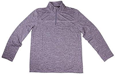 Calvin Klein Men's 1/4 Zip Pullover Athletic Shirt