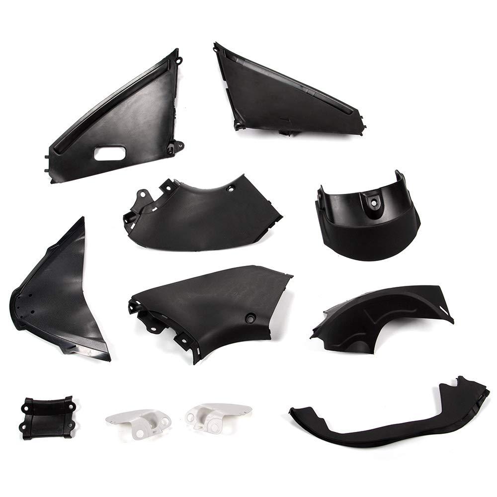 Motorcycle White Unpainted ABS Plastic Fairing Cowl Bodywork Set Compatible For SUZUKI HAYABUSA GSXR 1300 2008-2019 Fairing Kit 29 PCS Set