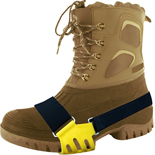 Safety Care Ice Claws - Snow & Ice Traction Cleats - Fits All Adult Boot Sizes by Safety Care (Image #1)