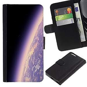 UNIQCASE - Apple Iphone 6 PLUS 5.5 - Space Planet Galaxy Stars 17 - Cuero PU Delgado caso cubierta Shell Armor Funda Case Cover