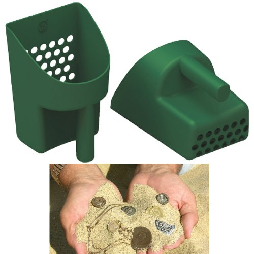 SE GP3-SS20 Prospector Series Green Sand Scoop for Metal - Coin Seashell
