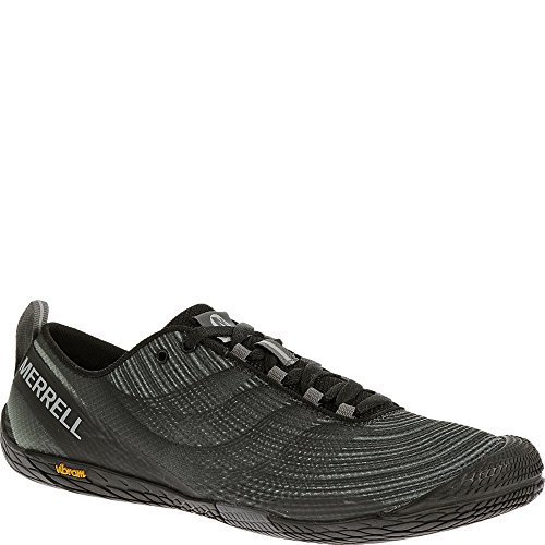 Merrell Men's Vapor Glove 2 Trail Running Shoe, Black/Castle Rock, 11 M US J32485