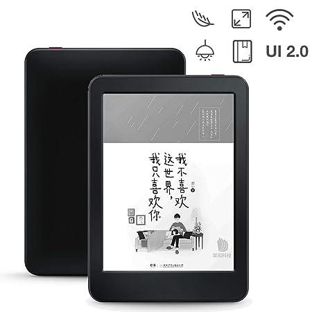 Touch Pantalla Ebook Lector, Ajustable Luz Portátil Lector, WiFi ...