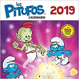 Calendario Los Pitufos 2019 por Pierre Culliford