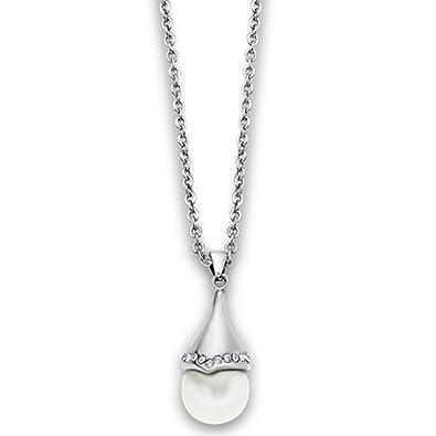 Lotus LS1852/1/1 - Collar para mujer acero inoxidable plata ...