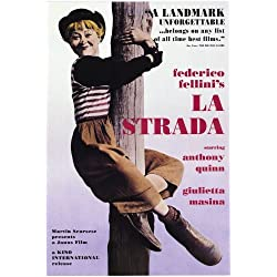 La Strada POSTER Movie (27 x 40 Inches - 69cm x 102cm) (1954)
