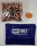 50 1/8 Standard Wing-Nut Cleco Fasteners w/ HBHT Tool & Carry Bag (KWN1S50-1/8)