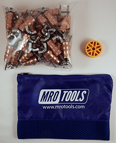 50 1/8 Standard Wing-Nut Cleco Fasteners w/ HBHT Tool & Carry Bag (KWN1S50-1/8) by MRO Tools Cleco Fasteners