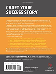 Start Your Own Microbrewery, Distillery, or Cidery: Your Step-By-Step Guide to Success (StartUp Series) from Entrepreneur Press