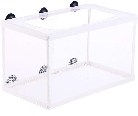 2 x Self-floating Fish Breeder Case Breeding Box Aquarium Fish Tank Hatchery