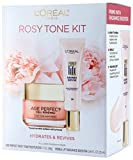 L'Oréal Paris Skin Care Giftable Kit with Rosy Tone Face Moisturizer & Visible Lift Radiance Booster, 1 Kit