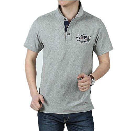 ポロシャツ メンズ 半袖 ゴルフウエア JEEP カジュアル スポーツ おしゃれ 綺麗 ユニセックス サマー 夏服 通気性 速乾 運動