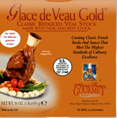 Glace de Veau Gold (Classic Reduced Veal Stock) - - Veal Stock
