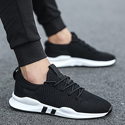 Men's Shoes Feifei Spring and Autumn Breathable Leisure Sports Shoes 3 Colors (Size Multiple Choice) Black N8Z3zK