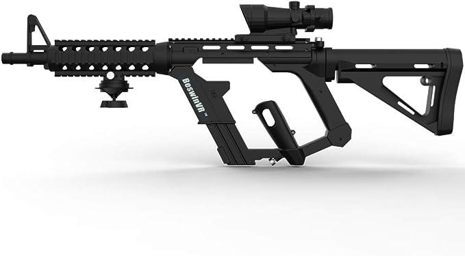 VR Game Gun Controller Stock Adaptador de rifle BeswinVR M4 para controlador dual HTC Vive 1.0 y 2.0 Pro Virtuix Omni KAT Treadmill (marca registrada protegida): Amazon.es: Videojuegos