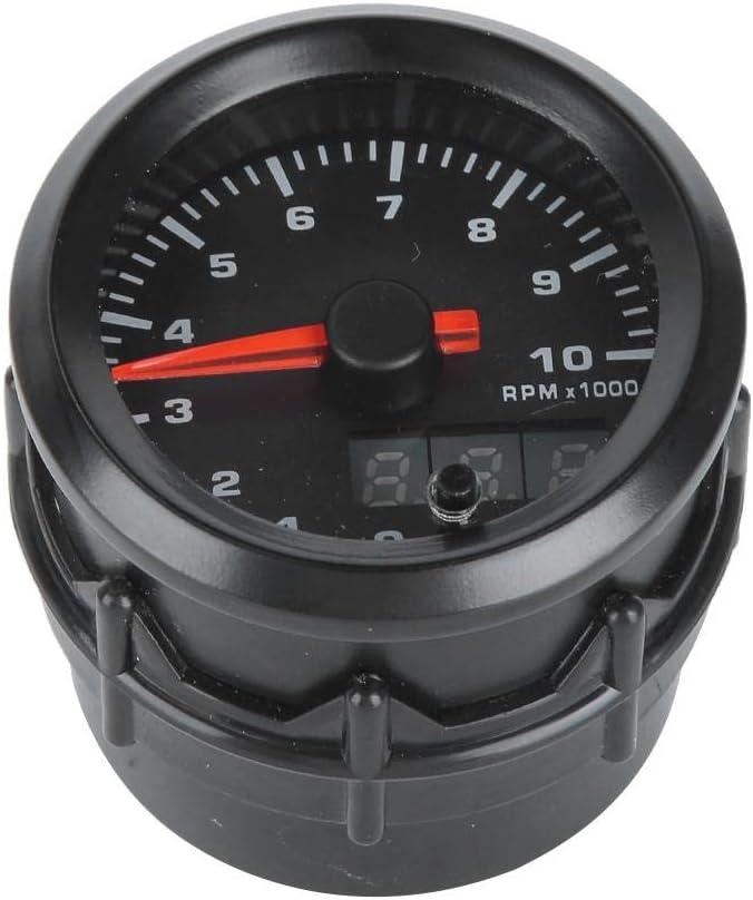Car Digital Display Stepper Motor Speed Meter 52mm//2.0in Auto Tachometer Gauge