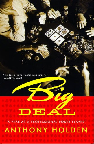 Trademark Big Deal - A Year as A Pro Poker Player By Anthony Holden Instructional (Black/Red)