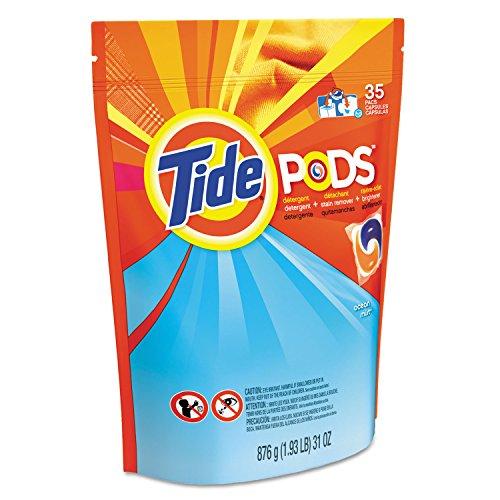 Procter Gamble Laundry Detergent - Procter & Gamble Pods, Laundry Detergent, Ocean Mist, 35/Pack, New