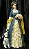 Katherine Howard Queen of England Figurine Historical Collection