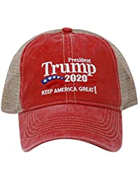 408eb25ee3d Trump 2020 Keep America Great Campaign Embroidered USA Hat