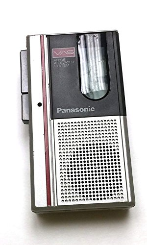 Panasonic RN-185 Dictation Microcassette Handheld Tape Recorder