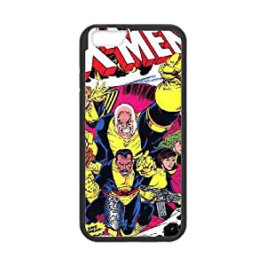 iPhone 6 Plus 5.5 Inch Cell Phone Case Black X Men MHF Rubberized Cell Phone Cases