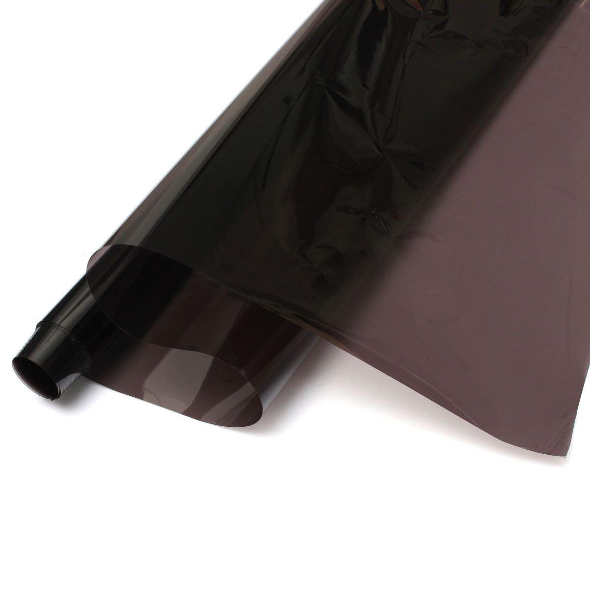 Auto Glas Folie - TOOGOO (R) Breite 50cm * 3M Autoglasdurchlaessigkeit von 35% Isolierung Explosionsgeschuetzte Membran Schwarz TOOGOO(R) 060888A3