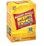 Barnum's Animals Crackers, 1 oz, 12 ct, 1-Pack