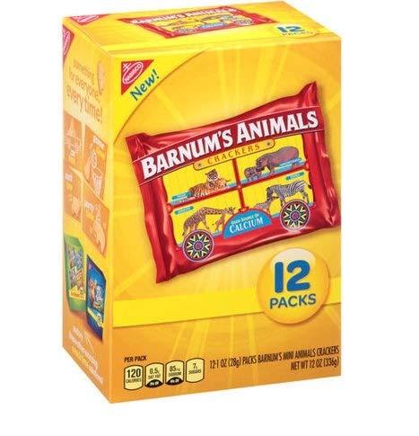 Barnum's Animals Crackers, 1 oz, 12 ct, 1-Pack