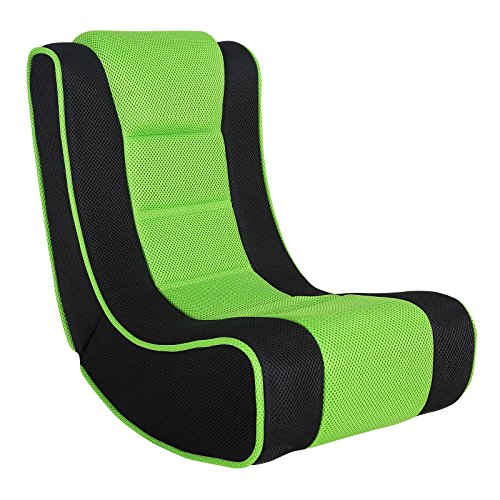XSS Kids Lightweight Folding Gaming Chair Comfortable Padded Seat Headrest...