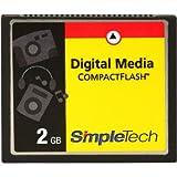 SimpleTech 2GB COMPACT FLASH CARD ( STI-CF/2GB )