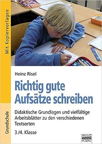 Brigg Deutsch Grundschule Schreiben Richtig Gute Aufsätze